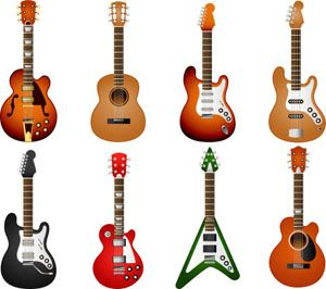 Different Guitar Types